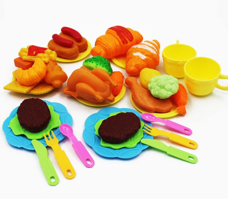 Speelgoed Keuken Accessoires Plastic : Miniature Food Toys