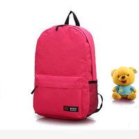 New 2014 Unisex Travel Backpack Satchel Canvas School Bags Campus Bookbag Shoulder Rucksack Multicolor Casual Women Backpacks