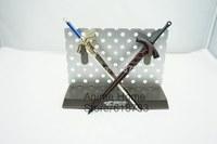 Fate UBW accessory saber's sword Excalibur with scabbard black sword black saber original sword key chain FZ02
