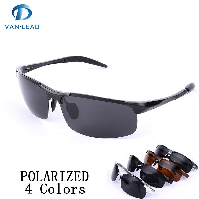 la conducción de gafas de sol ray nuevo los hombres del deporte de marca de gafas de sol polaroid aviador hombres de aleación de gafas de sol polarizadas marcos de envío gratis