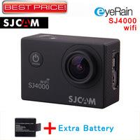 SJCAM Original Sj4000 Wifi Action Camera Diving 30Meter Waterproof Camera Full HD 1080P Helmet Camera Underwater Sport DVR Gopro