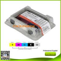 Evolis color ribbon cassette R5F008S14 YMCKO for Zenius Primacy color ribbons 5rolls/lot