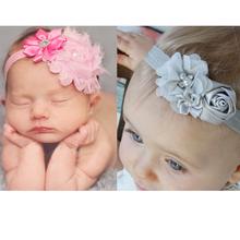 1 stück 2014 spitze blume elastische kopfband säugling baby kinder mädchen junge haare zubehör kinder kleinkind stirnbänder haarband(China (Mainland))