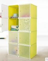 Diy magic baby receive ark combination of household plastic wardrobe