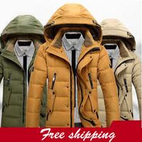2015 free shipping men's 90% White duck down jacket,fur collar,winter jacket men,brand hot sale fashion down jackets,parka