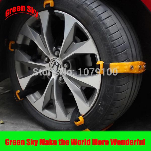 Fabricantes chineses fornecer perspectivas mercado amplo Material de poliuretano antiderrapante cadeia pneu(China (Mainland))
