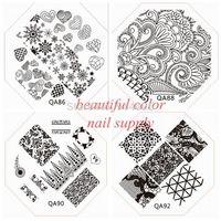 wholesale and retail of QA1-98 nail art image plate.nail template  CHOOSING DESIGNS for qa series nail beauty TOOLS