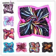 Womdee Fashion Design Silk Kerchief Scarves Colorful 15 Styles(China (Mainland))