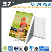 "9.7"" CHUWI V99I Intel Baytrail-T Z3735D Quad Core Tablet PC 2GB/16GB Retina Screen Android 4.2 V99X Upgrade Version"