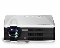 LED projector, LED lamp with  20000 hours life  portable video projector 2500Lms 800*480P 4:3 HDMI best for home theater