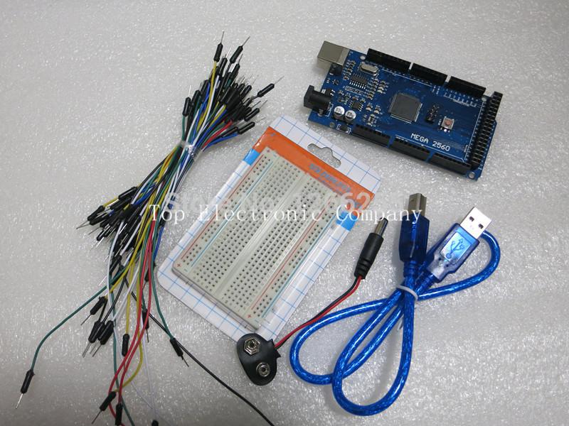 Mini Breadboard Prototype Shield Kit with Resistor