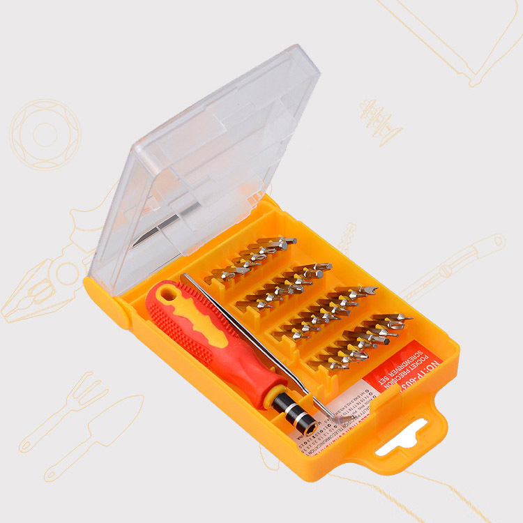 Screwdriver, Tool Set 32 in1 Kit screw drivers set Magnetic Micro Pocket Precision for hand tools repair box freeshipping(China (Mainland))