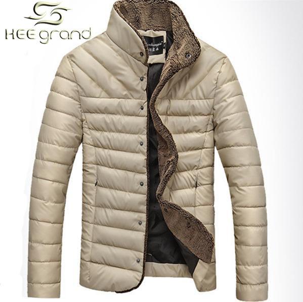 2015 Hot Sale Men Jacket Warm Stand-Collar Winter Wool Fashion Men Coat MWM432(China (Mainland))