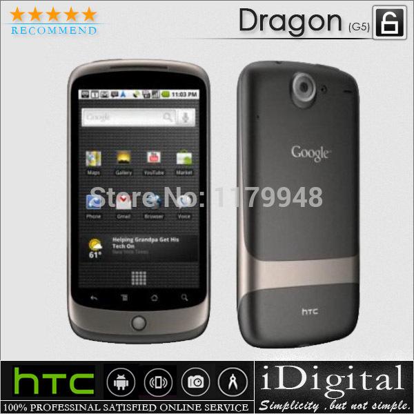 "Original HTC Google Nexus One G5 Dragon Unlocked Mobile Phone 5MP 3.7"" 3G WIFI GPS Android OS Factory Refurbished(China (Mainland))"