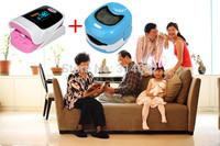 Family set ! 1 Adult Finger digital Pulse Oximeter with CE and FDA Certificate RPO-8A + 1 Children LCD Fingertip Pulse Oximeter