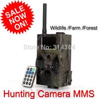 Sales Promotion 940NM scouting hunting camera HC300M HC-300M HD GPRS MMS Digital Infrared Trail Camera GSM IR Hunter Cam