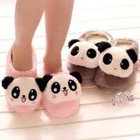 Indoor Slipper For Lovers ,Warm Home Slippers For Autumn and Winter, Cartoon Plush Slipper, Cute  Panda Face Slipper For Family
