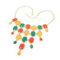vintage necklace Bohemian tassels necklace chocker necklace body chain vintage jewelry women