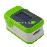 Health Care Blood Oxygen SpO2 Saturation Monitor Fingertip Pulse Oximeter Green