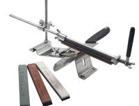 ruixin Stainless steel kitchen Edge pro est knife sharpener system blade sharpener 4pcs grindstone afiador de faca