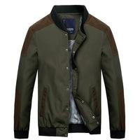 2015 New Arrival Brand Parkas Men Winter Coat Fashional Outwear Windbreak Jackets Black/Army Green Free Shipping