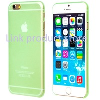 100pcs/lot case for iPhone6 6 matte shell case  0.3 mm (4.7)  for iphone case cover color protection shell  free shipping