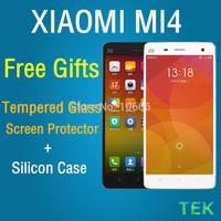 "(11.11) Original XIAOMI Mi4 3GB/64GB 3GB/16GB Qualcomm Quad Core MIUI V5 Android 4.4 5.0"" FHD Mobile Phone free shipping"