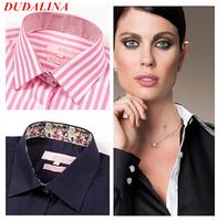 Blusas femininas 2014 DUDALINA roupas body fashion women  renda camisa lace blouses blusas de  shirt kimono woman's tops women 2
