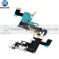 Free Shipping 100% quality guarantee For iphone 6 6g Charging Dock Connector For iphone 6 Flex Cable Replacement