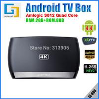 Android TV Box Amlogic S812 Quad core 2Ghz Octa-GPU RAM 2GB ROM 8GB Wi-Fi 4K XBMC DLNA Miracast android 4.4 H.265 S806