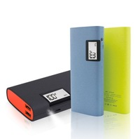 13000mah high capacity Mobile Phone Portable power bank LED Flashlight powerbank for Samsung s5 s4 Iphone 6 5/5s