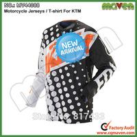 Free Shipping M L XL XXL MV44089 NEW Motorcycle Racing Jersey For KTM T shirt Racing Motorbike Motocross Jersey Shirts