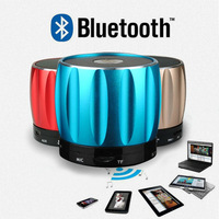 Wireless bluetooth speaker hands free portable mini outdoor subwoofer with FM/AUX/Micro card for tablet pc/mobile free ship