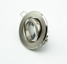 DHL grátis 5pcs envio LED teto lâmpada titular holofotes luminária com base de encaixe luminárias redondas de alumínio para casa(China (Mainland))