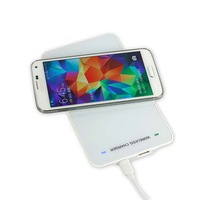 new hot sell MC-04 portable wireless charger with s4 receiver charging without cable free shipping