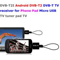DVB-T2I Android DVB-T2 DVB-T TV receiver for Phone Pad Micro USB TV tuner