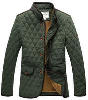 Winter Warm thick Jackets Coats Outwear Casual Man Stand Collar Parkas Napka Jaqueta Male Jaquetas Men's Jacket COAT-282470