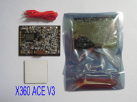 XHEgames For X360 ACE V2 with150MHZ With Slim cable for xbox 360 10pcs/lot free shipping