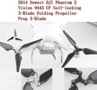 DJI Phantom2 Vision 9443 Carbon self-locking self-locking paddle folding propeller 2pairs/lot