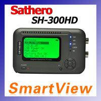 Original Sathero SH-300HD DVB-S/S2 HD Digital Satellite Finder Twin Tuner Support USB2.0 Spectrum analyzer free shipping