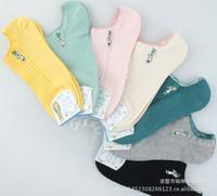 2014 Best Seller High Quality Women Cotton Boat Socks Cute Socks