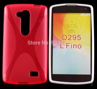New X Line Soft TPU Gel Skin Cover Case For LG L Fino D295