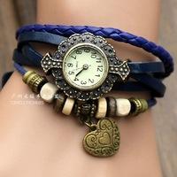 Free shipping Women's Vintage wrist watch,quartz watch,butterfly,starfish,loveheart,owl,fly GS-F149