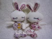 28cm plush rabbit shy rabbit plush toy birthday present love rabbit  free shipping
