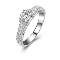 Promise 0.5 carat cz diamond wedding anniversary rings (MATE R123)