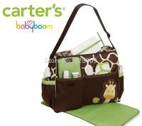 Wholesales 2014 Mummy Nappy/baby/tote diaper Bag/handbag giraffe zebra useful beautiful