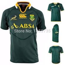 al por mayor canterbury springboks sudáfrica de rugby camisetas hombres manga corta ropa deportiva velocidad de secado s- xxxxxl más tamaño(China (Mainland))