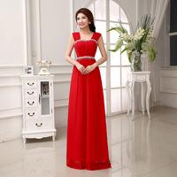 2014 New Arrival Beading Tulle Elegant Luxury Long Floor Length Evening Prom Dress Free Shipping LF232