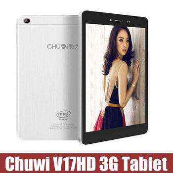 Оригинальный Chuwi V17HD 3 г атом Intel Z2520 двухъядерный 1.2 ГГц планшет пк 7 дюймов IPS экран двойная камера поддержка Bluetooth GPS WCDMA