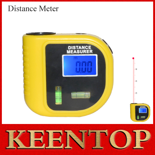 18M Mini Ultrasonic Digital Tape Measure Laser Range Finder Distance Meter Laser Pointer Rangefinder Level Tool Measurer Area()